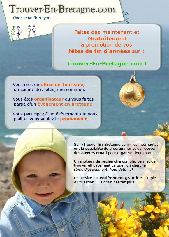 Faites connaître vos évènements en Bretagne gratuitements sur internet