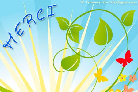 Merci Nature Ecard Bretonne Carte Virtuelle De Bretagne Trouver En Bretagne Com E167