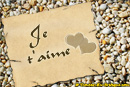 Je t'aime galet