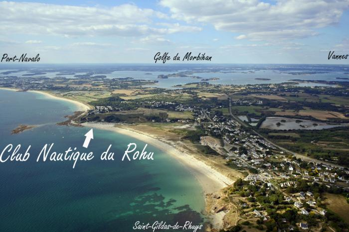 Club nautique du rohu ecole de voile saint gildas de - Office du tourisme st gildas de rhuys ...